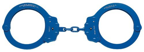 Peerless Handcuff Company Chain Handcuff Model 750, Color-Plated