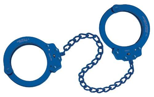 Peerless Handcuff Company 753B Leg Iron, Blue