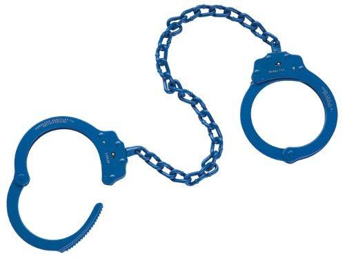 Peerless Handcuff Company, 755B Oversize Leg Iron, Blue