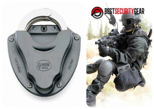FOBUS Paddle Holster HSP FOBUS Handschellen Paddle Holster Tasche für Ketten- oder Scharnier-Handschellen HSP FOBUS + Best Security Gear Magnet