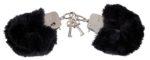 Handschellen mit Plüschüberzug
