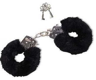 Orion Liebes-Handschellen mit abnehmbaren Plüschbezügen & zwei Schlüsseln