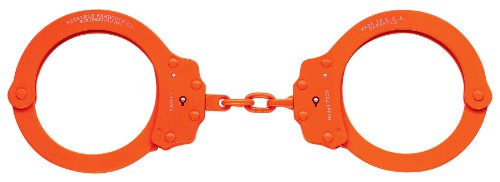 Peerless Handfessel Company, Kette Handfessel, Modell 700-6 x, Kette Handfessel mit 8 links Orange Orange Finish