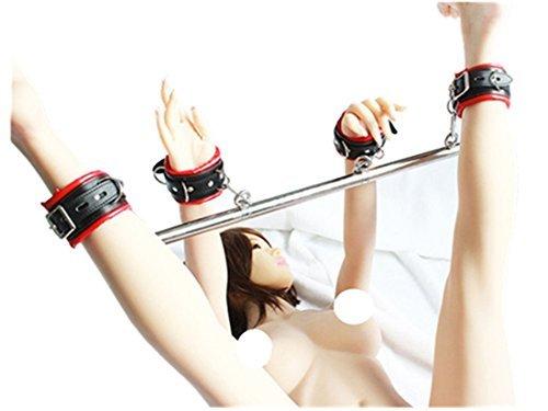 Handfesseln und Fußfesseln mit Spreizstange, verstellbar