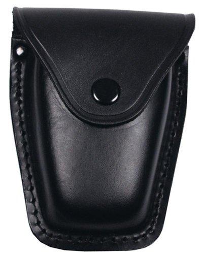 Handschellenetui, Leder, schwarz