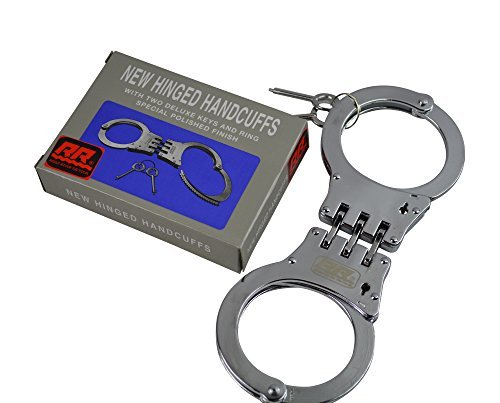 Rogue River Tactical Hinged Handcuffs / Handschellen