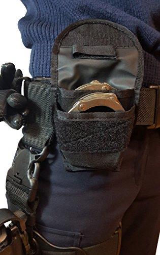 DASTA 238-6 Handschellen-Tasche für 2 Paar Handschellen