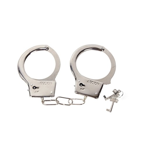 Spielzeug-Polizeihandschellen