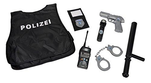 Polizei Einsatzkommando-Set mit Handschellen